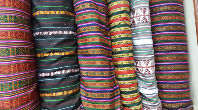 tissus bhoutan