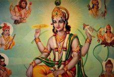 Vishnu, ses avatars