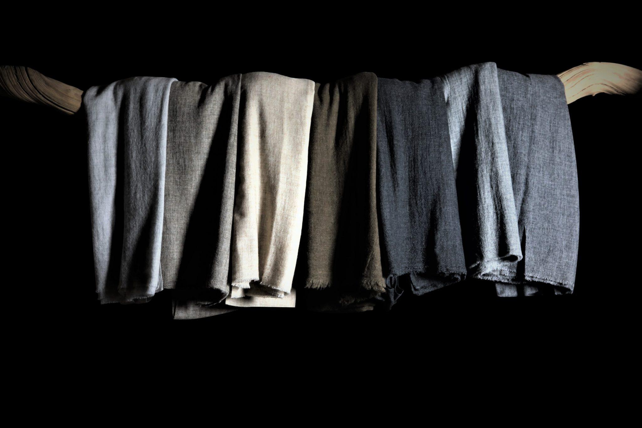 écharpe laine cachemire Népal achat mes indes galantes paris