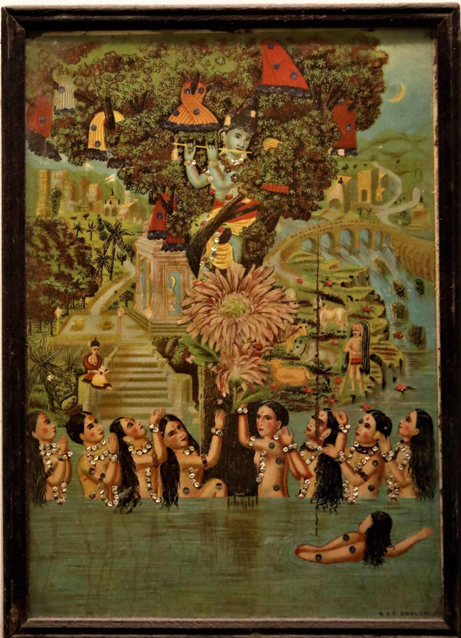 krishna peinture achat paris mes indes galantes
