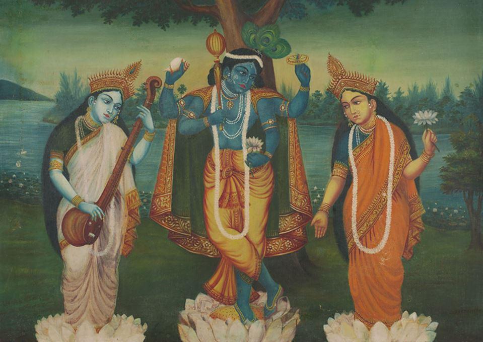 Krishna avatars Vishnu Mes Indes Galantes