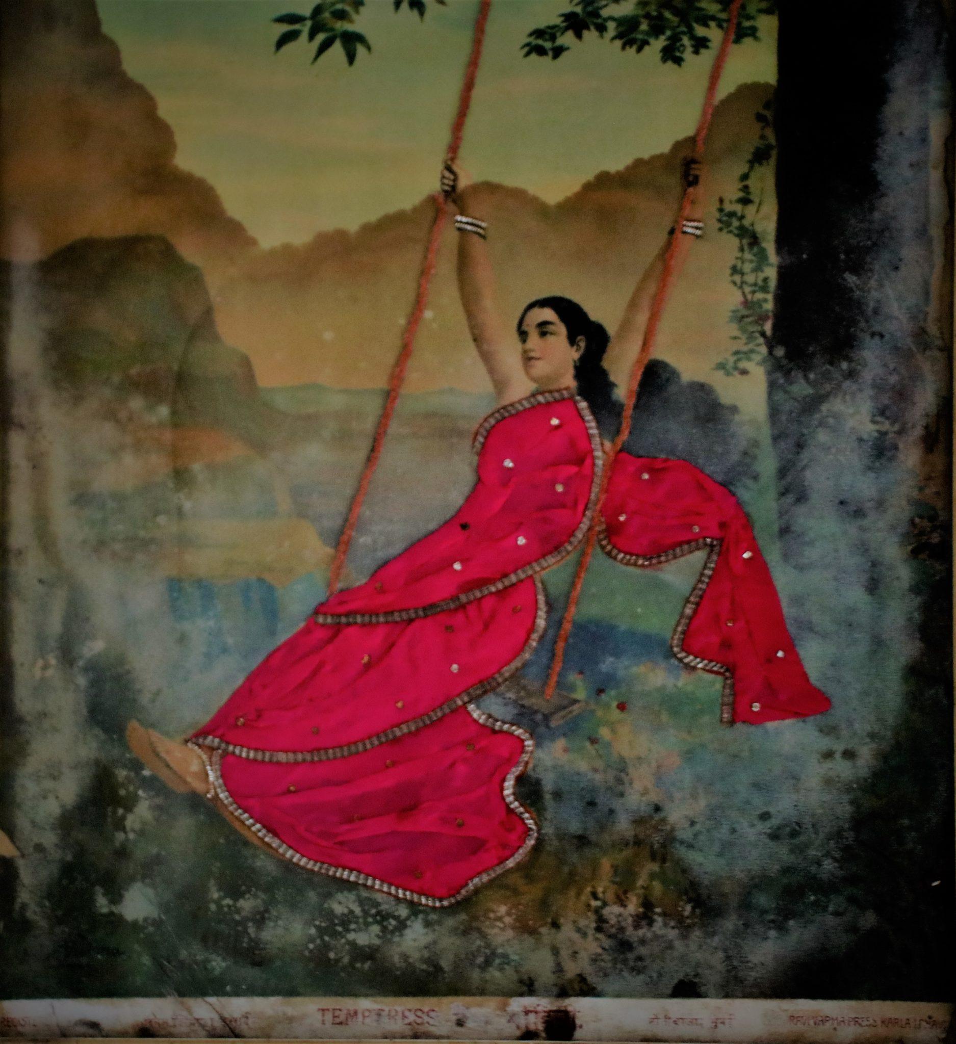 sari indien tissu