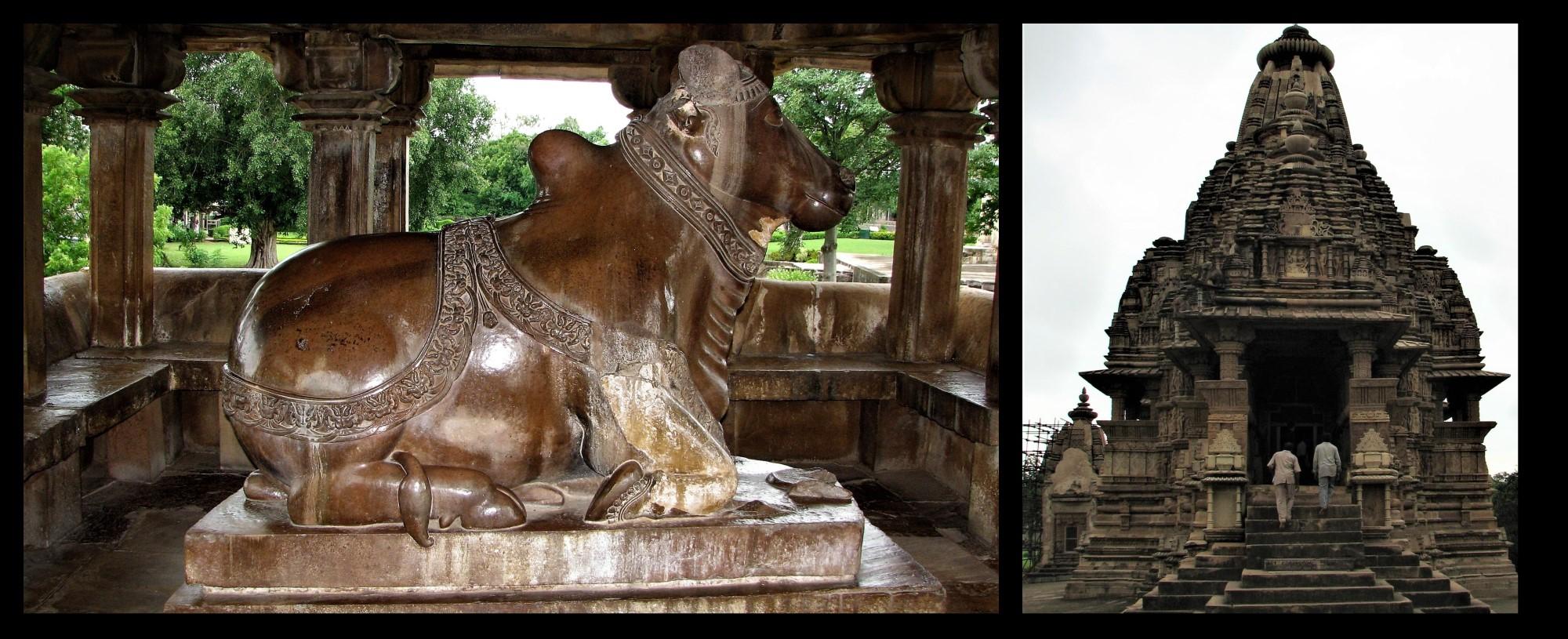 temple Nandi Devanagari