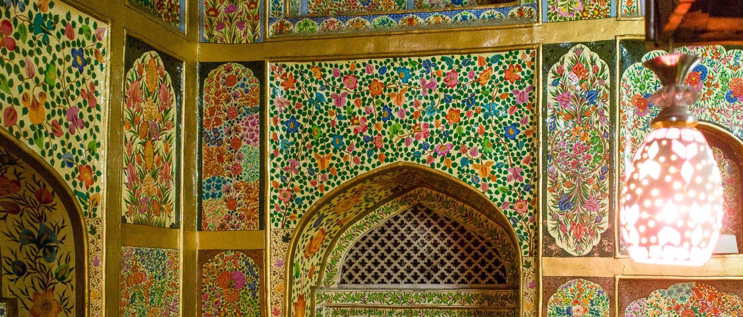 mosquée papier mâché