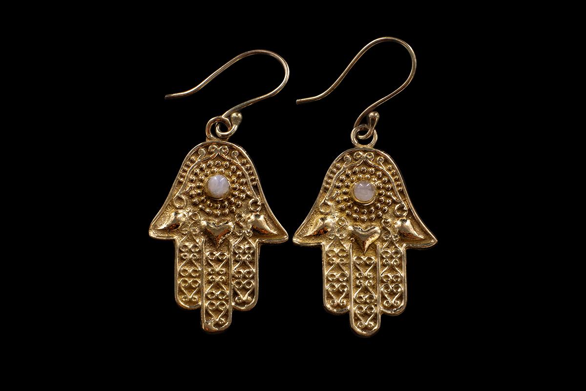 bijoux main de fatma hamsa khamsa  MES INDES GALANTES PARIS
