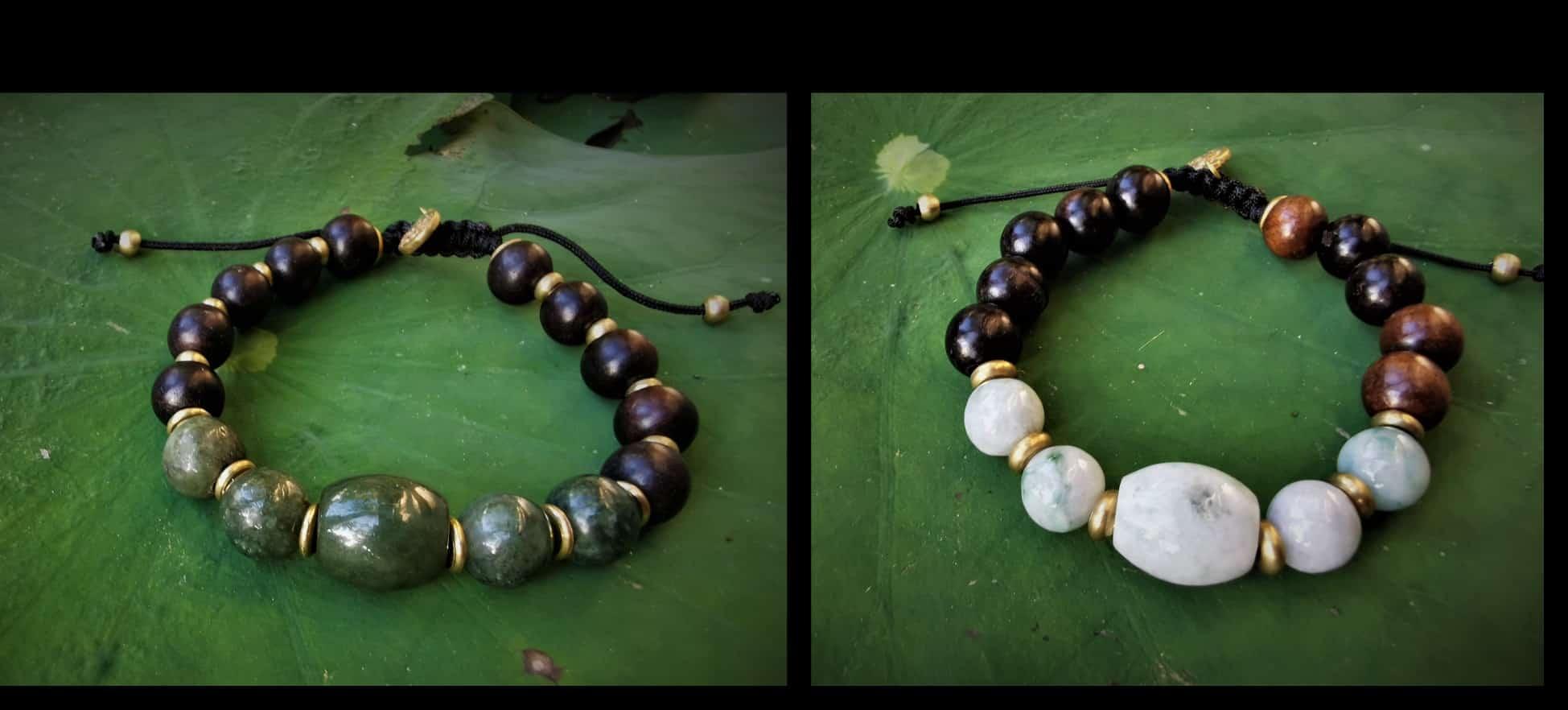 Bracelet Jade -  Mes Indes Galantes Paris