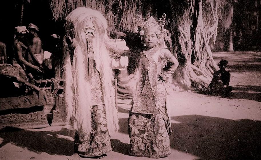 rangda Bali culture