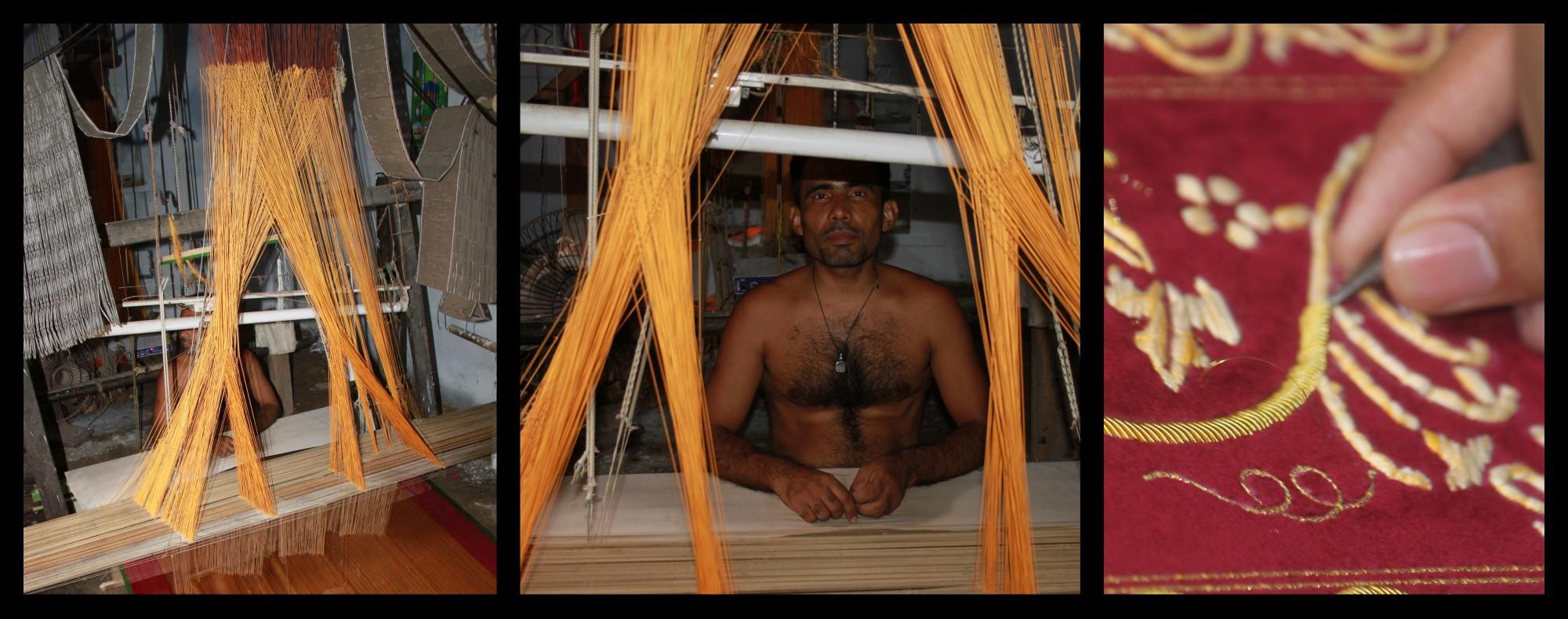 fabrication sari