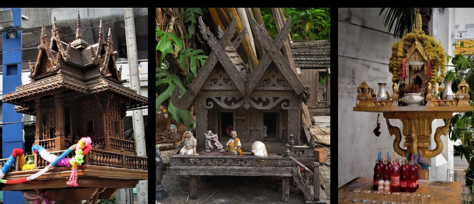 maison des esprits protection  Thaïlande