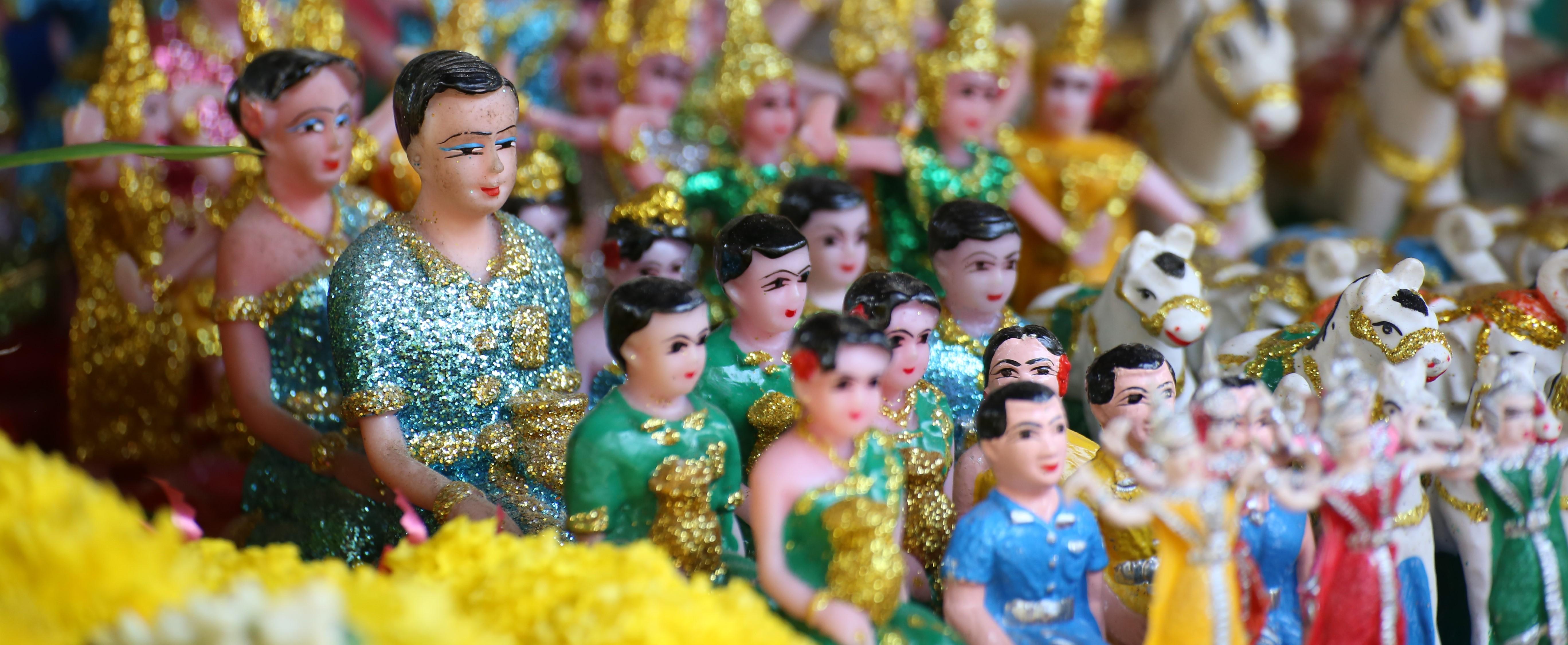 maison esprits phra phum génies protecteur thai