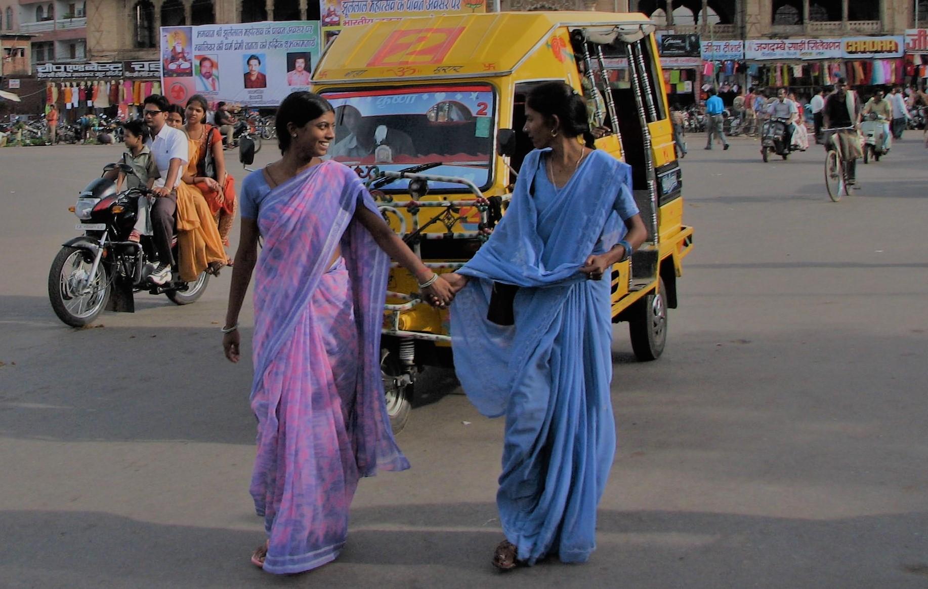 sari indien signification histoire