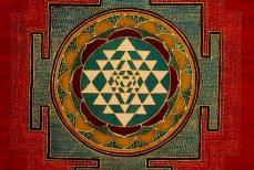 Le Shri yantra, la roue aux neuf triangle