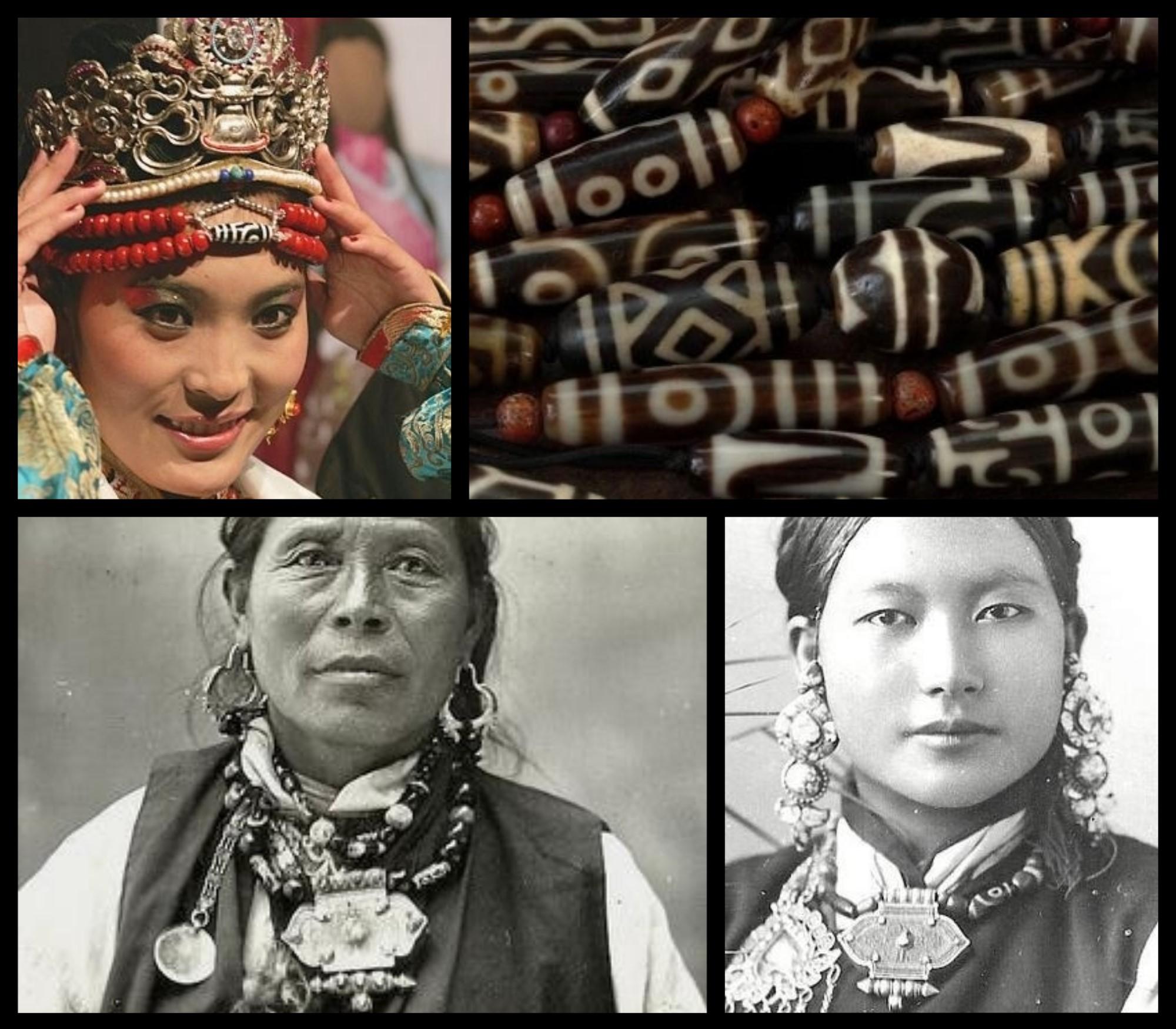 dzi tibet origine histoire