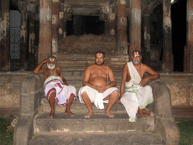 Les Temples du sud