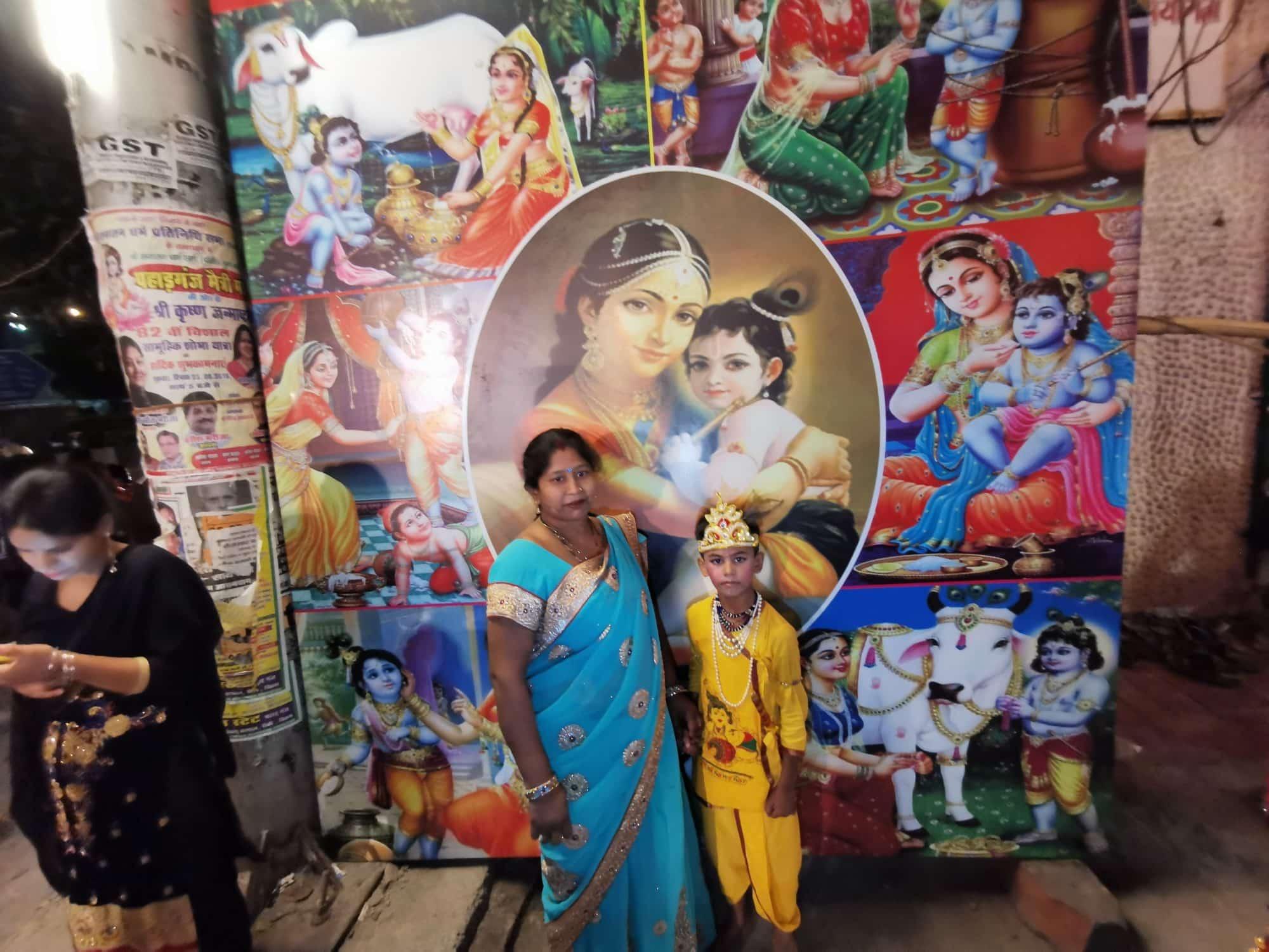 enfant krishna