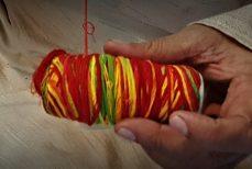 Le Bracelet indien de fil rouge indien Le Kalawa