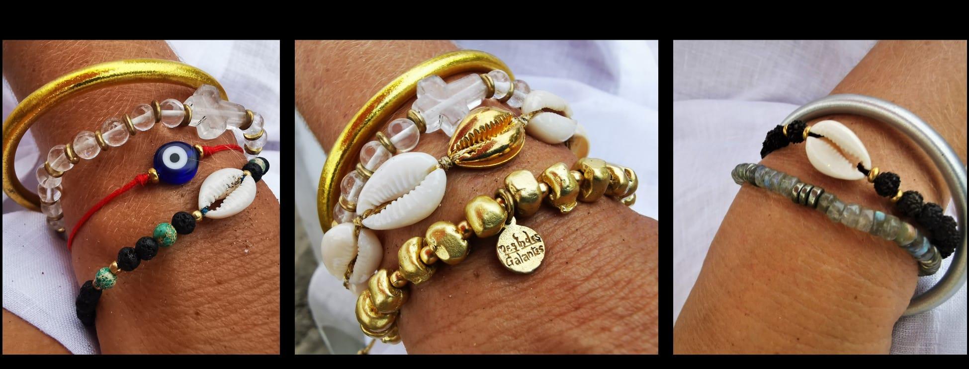bracelet cauri   paris Mes Indes Galantes
