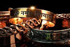 Bracelet en cuivre Ayurvédique