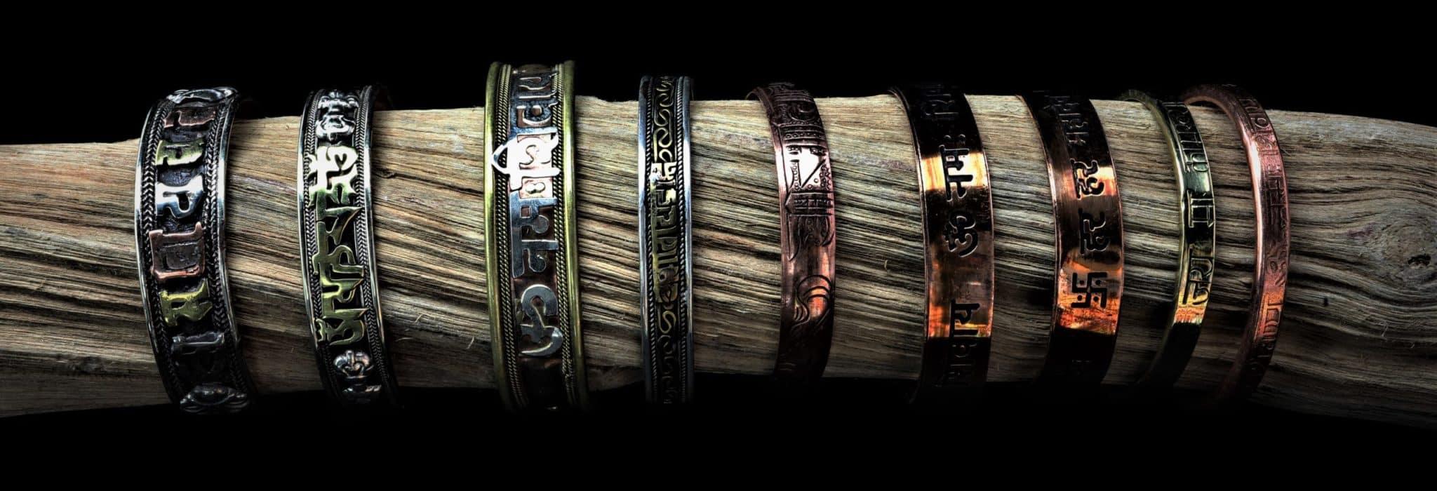 bracelet ayurvédique tibétain mantra