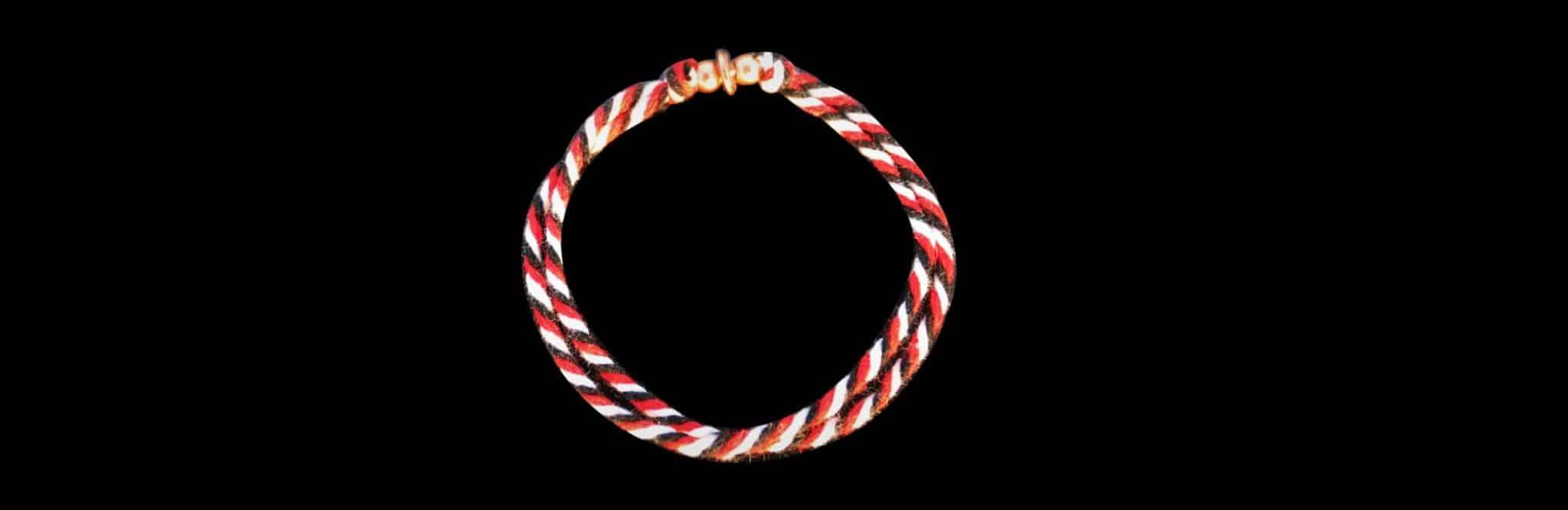 bracelet tricolore balinais