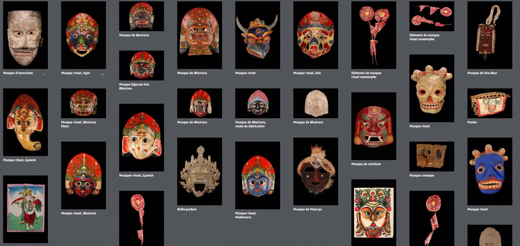 Collection Masque Tibétain et Népalais