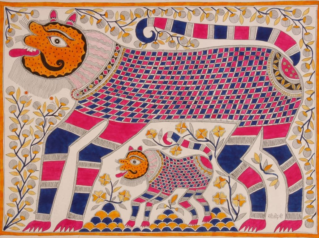 Tigre Mes Indes Galantes Shiva Durga
