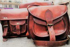 Le sac en cuir Indien du Rajasthan