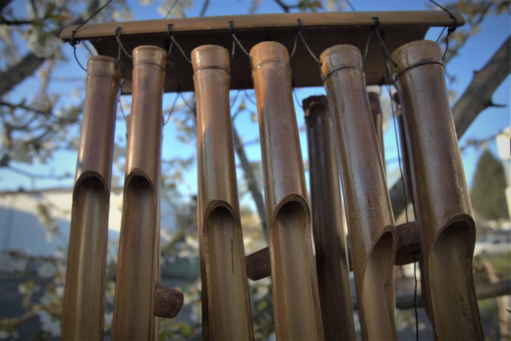 carillon à vent bambou