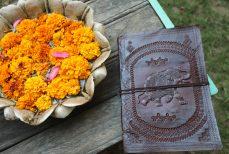Carnet de cuir du Rajasthan