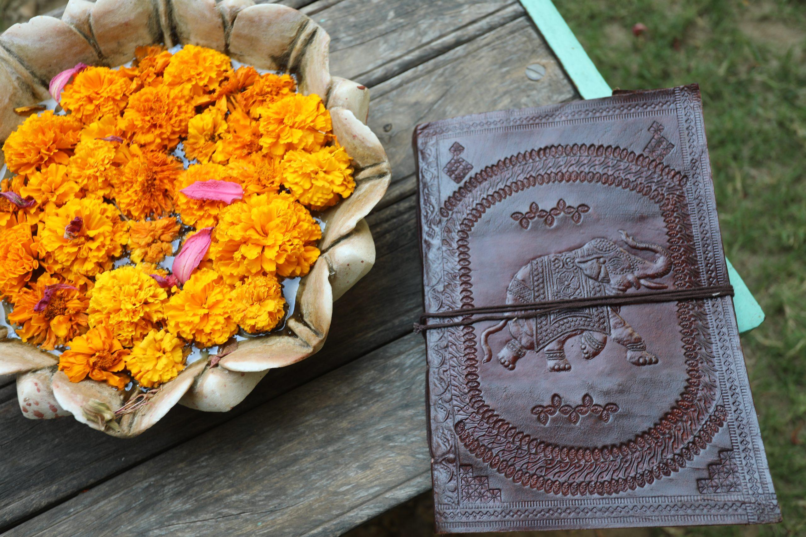 carnet cuir indien Paris Mes indes Galantes