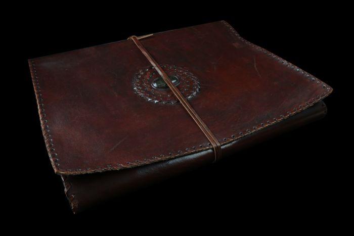 Carnet de cuir Rajasthan Carnet de voyage Mes Indes Galantes Papier