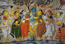 Peinture indienne, Tala Pattachitra de l'Orissa