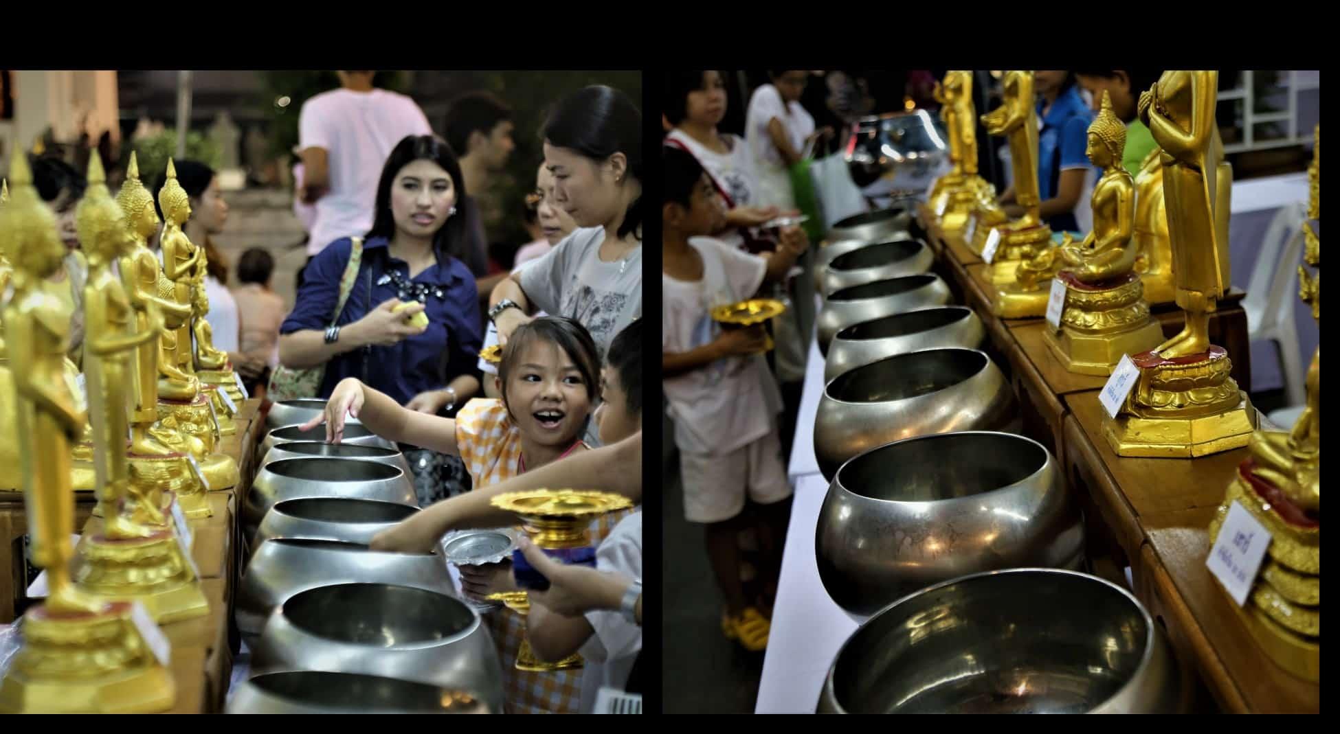 Bol à aumône patra Bol à offrandes Thaïlande Mes Indes Galantes