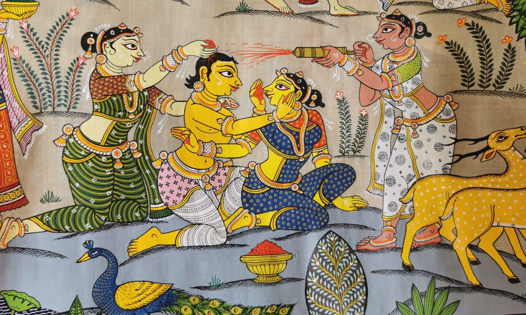 Tala Patta Chitra holi