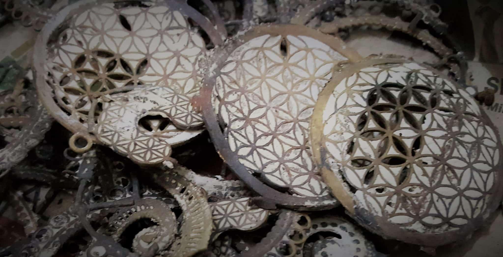 Fabrication Bijou indien en laiton Entretien Mes Indes Galantes
