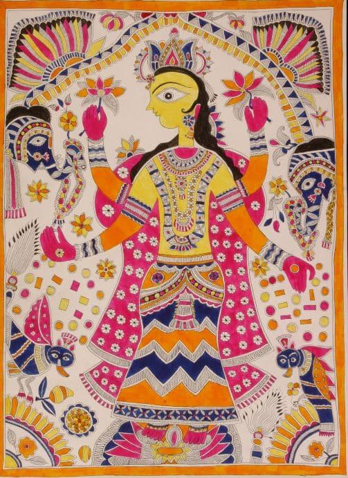 Madhubani Laksmi