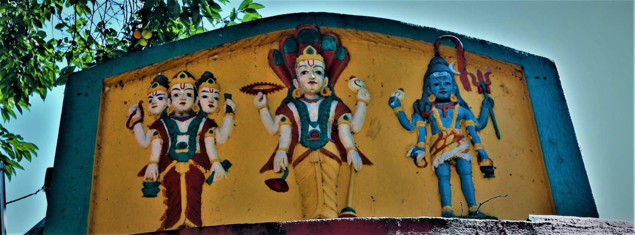 Hindouisme Brahma Vishnu Shiva