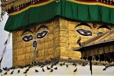 Les Yeux de Bouddha, l'omniscience de l'éveillé