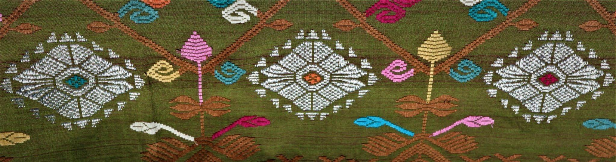 Songket Brocart Textil Bali MES INDES GALANTES