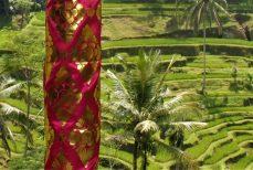 Tissu Prada, le luxe à paillette Balinais