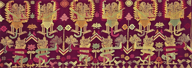 Songket Fil d'or ou d'argent Mes Indes Galantes