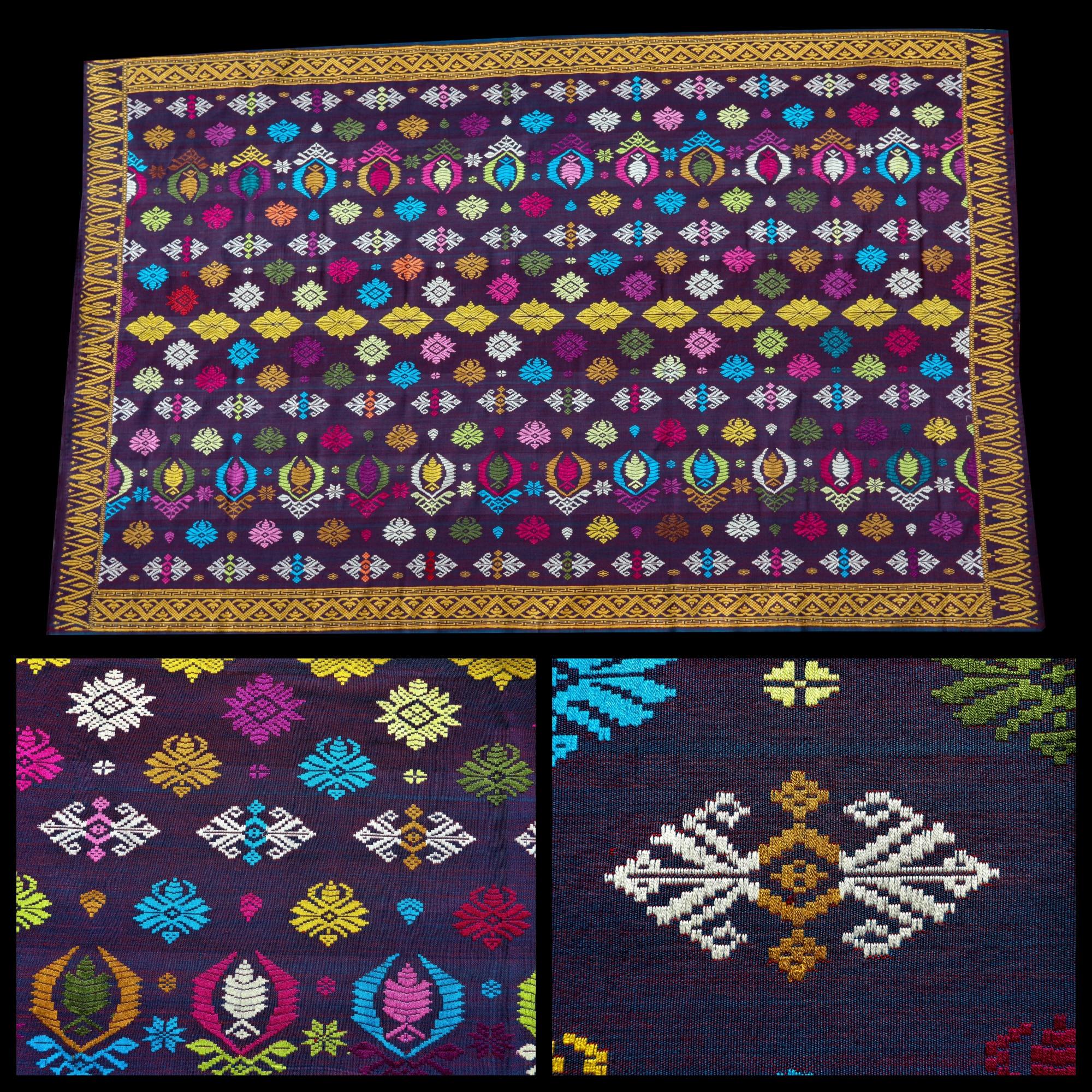 Songket Bali Textile Mes Indes Galantes PARIS