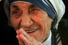 Mère Teresa, la Sainte Thérèse de Calcutta