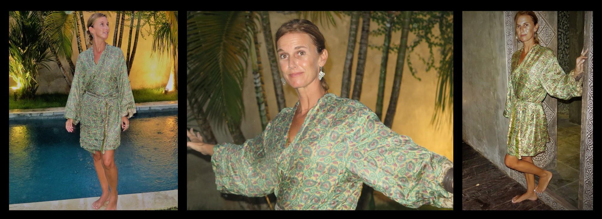 kimono soie Paris Mes Indes Galantes